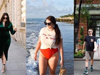 Cô gái 90kg có người yêu đẹp như tài tử điện ảnh nhờ tự tin mặc đẹp
