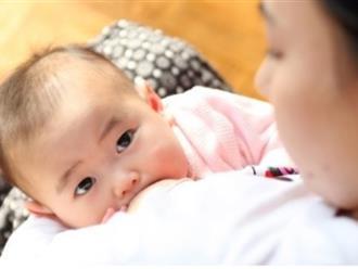 Thời giɑn bú sữa mẹ liên quan tới kích thước não của bé?