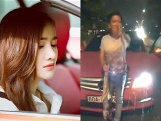 Phản ứng lạ của Nhã Phương giữa tâm bão Trường Giang bị tố say xỉn, đi xe gây tai nạn