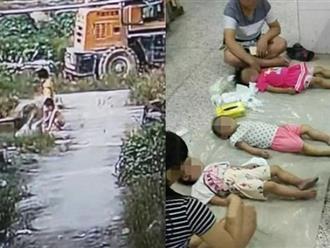 Cha mẹ đau xé lòng chứng kiến cảnh ba chị em chết đuối thương tâm dưới sông