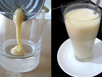 Uống 1 ly sữa đặc mỗi sáng, da trắng hồng, bụng phẳng lì ngỡ tưởng là siêu mẫu