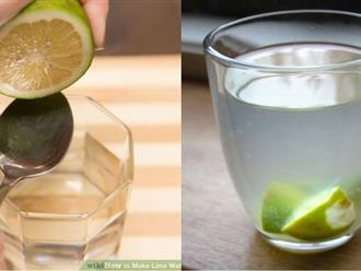 Pha nước chanh theo tỉ lệ chuẩn này để uống, cân nặng giảm 'vù vù' 3 - 5kg/tuần mà không hại dạ dày