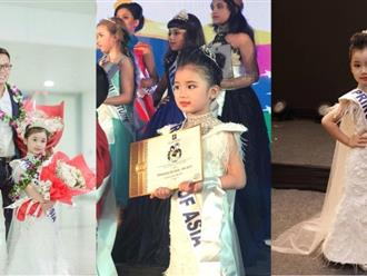 """Bé gái Việt 5 tuổi vượt 5000km đến Ấn Độ nhận danh hiệu """"Công chúa châu Á"""""""