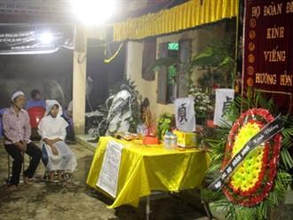 Vụ hai mẹ con tử vong dưới ao: Lễ tang giữa khuya và tiếng khóc tang thương trong ngôi nhà cấp bốn