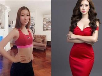 """Bị chê mặt photoshop quá đà, HH Mỹ Linh """"phản pháo"""" khoe vòng một"""