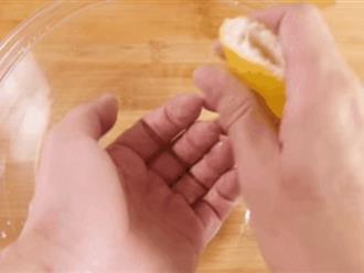 Khử mùi tanh cá ở tay chỉ với nguyên liệu này sẵn có trong nhà bếp