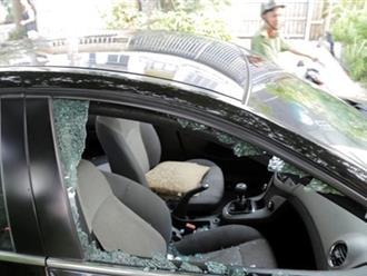 Truy tìm thủ phạm đập nhiều ô tô trộm tiền
