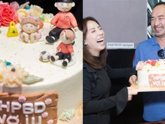 Thu Trang khóc nghẹn vì được ông xã Tiến Luật bất ngờ tổ chức sinh nhật ngọt ngào