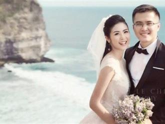 Hé lộ danh tính chồng đại gia đẹp như tài tử của Hoa hậu Ngọc Hân?