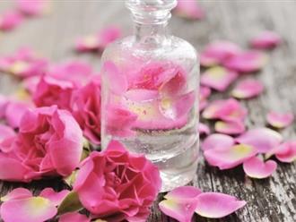 Mẹo làm đẹp da siêu hay qua cách chăm sóc da mặt với nước hoa hồng đúng chuẩn