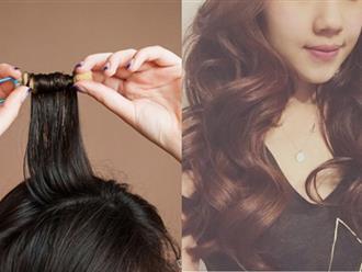Khỏi cần ra tiệm, tự làm tóc mái thưa bồng bềnh, giữ nếp đẹp chuẩn sao Hàn chỉ với vài bước đơn giản