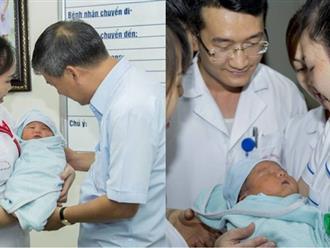 Hà Nội: Bé sơ sinh nặng 4kg bị mẹ bỏ rơi sau khi nhờ người bế giúp để đi vệ sinh