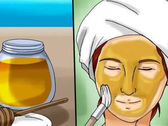 Cô gái lấy mật ong tươi xoa khắp mặt 2 phút, kết quả khiến cả nhà choáng váng