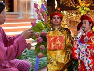 Hoài Linh tất bật trong ngày giỗ Tổ sân khấu tại đền thờ
