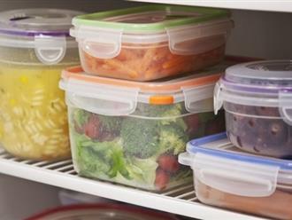 Bảo quản thực phẩm trong tủ lạnh mà phạm điều này là đang rước ung thư vào cho cả nhà