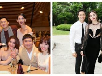 Cùng dự sinh nhật Đàm Vĩnh Hưng, Hồ Ngọc Hà và Kim Lý lại hành động 'lạ' đầy bất ngờ thế này!