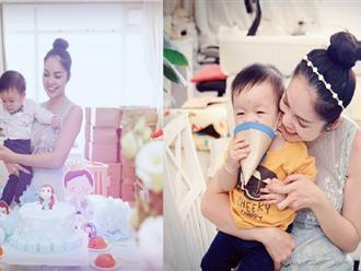 Dương Cẩm Lynh tặng quý tử món quà đặc biệt ít ai ngờ trong ngày con tròn 1 tuổi