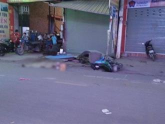 TP. HCM: Tài xế GrabBike ngã xuống đường sau va chạm giao thông, bị xe container cán tử vong tại chỗ