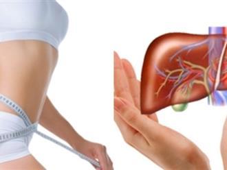 Thanh lọc gan, giảm mỡ bụng với công thức 2 trong 1 'thần thánh'