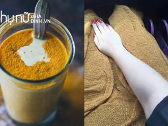 Uống 1 ly nghệ ấm mỗi sáng, cả đời chẳng sợ ốm đau, cả năm da luôn mướt mịn