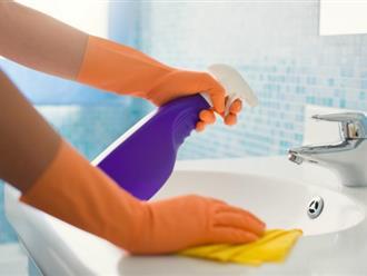 Mẹo vặt 'dễ như đếm' giúp phòng tắm gia đình sạch bóng như khách sạn năm sao