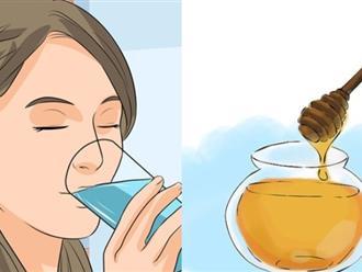 Muốn sở hữu làn da trắng không tì vết hãy uống nước mật ong