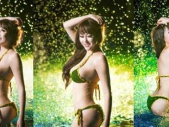 """Hot showbiz 21.10: Phi Thanh Vân tung ảnh bikini nhỏ xíu """"đốt mắt"""""""