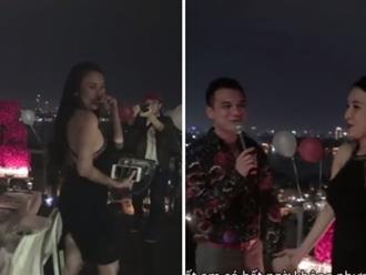 Khắc Việt quỳ gối ngỏ lời cưới bạn gái DJ