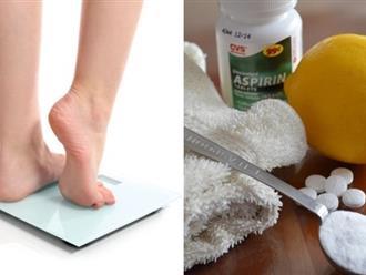 Chỉ cần 10 ngày để trị nứt gót chân bằng aspirin giúp tạm biệt gót chân khô nứt nẻ