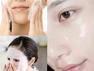 Muốn da trắng mịn không tì vết phải làm sạch như người Nhật, dưỡng ẩm sâu như người Hàn
