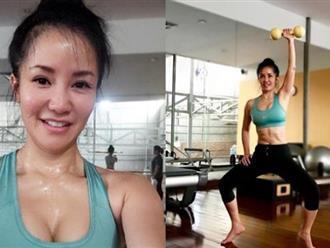 Nhìn Diva Hồng Nhung với vòng 1 căng tròn, quyến rũ thế này, chẳng ai ngờ đã là bà mẹ hai con U50