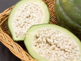 Tác dụng của đu đủ xanh: Không chỉ làm thức ăn mà còn là một vị thuốc chữa sỏi thận dài lâu