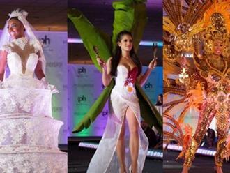 Hoa hậu Hoàn vũ 2017: Phát hoảng trước những bộ trang phục dân tộc kỳ dị của các người đẹp