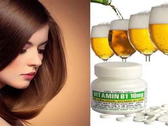 """Hé lộ cách trị gàu bằng bia – """"Phương thuốc"""" cứu sinh cho da đầu và mái tóc của phái đẹp"""
