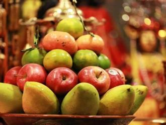 Hướng dẫn bày hoa quả thắp hương đúng cách