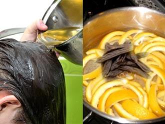 Dùng vỏ bưởi trị rụng tóc bằng cách này, mái tóc trở nên chắc khỏe mềm mượt chỉ sau 7 ngày
