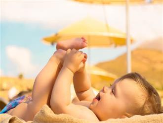 Tắm nắng cho trẻ sơ sinh vào lúc nào là tốt nhất?