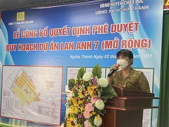 Khu dân cư Lan Anh 7 - động lực phát triển kinh tế xã hội ở huyện Châu Đức, tỉnh Bà Rịa - Vũng Tàu