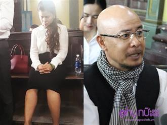 Bà Lê Hoàng Diệp Thảo rơi nước mắt sau khi nghe tòa tuyên kết quả: 'Quá bất công với mẹ con tôi'