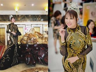 Phi Thanh Vân mặc xuyên thấu quyến rũ khoe đường cong chuẩn như vẽ