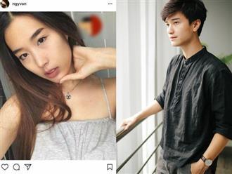 """Bạn gái """"yêu qua mạng"""" không ngán chuyện Huỳnh Anh còn lưu ảnh tình cũ"""