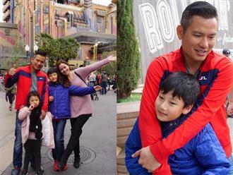 Vợ chồng Jennifer Phạm đưa các con đi chơi Disneyland