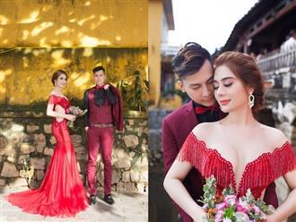 Lâm Khánh Chi như thiếu nữ 'Em chưa 18' trong bộ 'ảnh cưới thế kỷ' cùng chồng trẻ tại Đà Nẵng