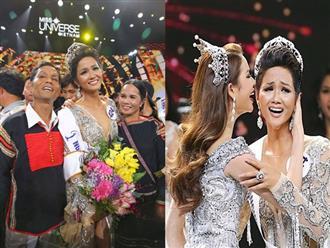 Bố Tân Hoa hậu Hoàn vũ Việt Nam 2017: 'Giờ thấy cháu nó được như vậy nên hết muốn gả sớm rồi'