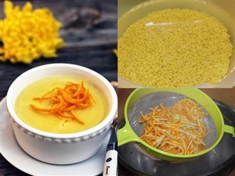 Cách nấu chè đậu xanh vỏ quýt cúng Giao thừa ngon mê ly lại tốt cho sức khỏe cả nhà