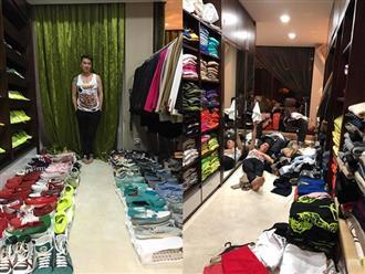 Sau 3 tiếng dọn dẹp quần áo, Đàm Vĩnh Hưng tuyên bố đầu hàng căn bệnh nghiện mua sắm của mình