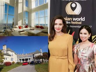 Muốn gặp được Angelina Jolie, em gái Cẩm Ly phải có khối tài sản 'khủng' như thế này