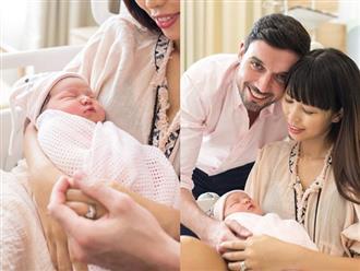 Đúng 1 tuần sau sinh, Hà Anh khoe ảnh con gái dễ thương tựa thiên thần