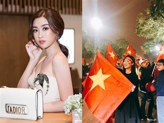 Vì sao HH Đỗ Mỹ Linh bay sang Trung Quốc trực tiếp cổ vũ đội U23?