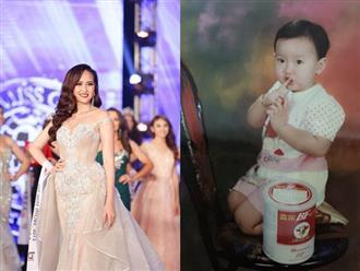 Lộ ảnh 'độc' thuở bé của tân Hoa hậu Hoàn cầu Khánh Ngân làm nhiều người giật mình vì quá giống con trai